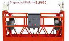 10m powered aluminum rope suspended platform ZLP1000 single phase 2 * 2.2kw