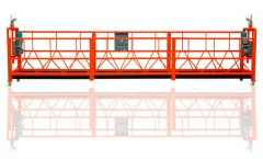 zlp series aerial suspended work platform , building lifting cradle , BMU gondola